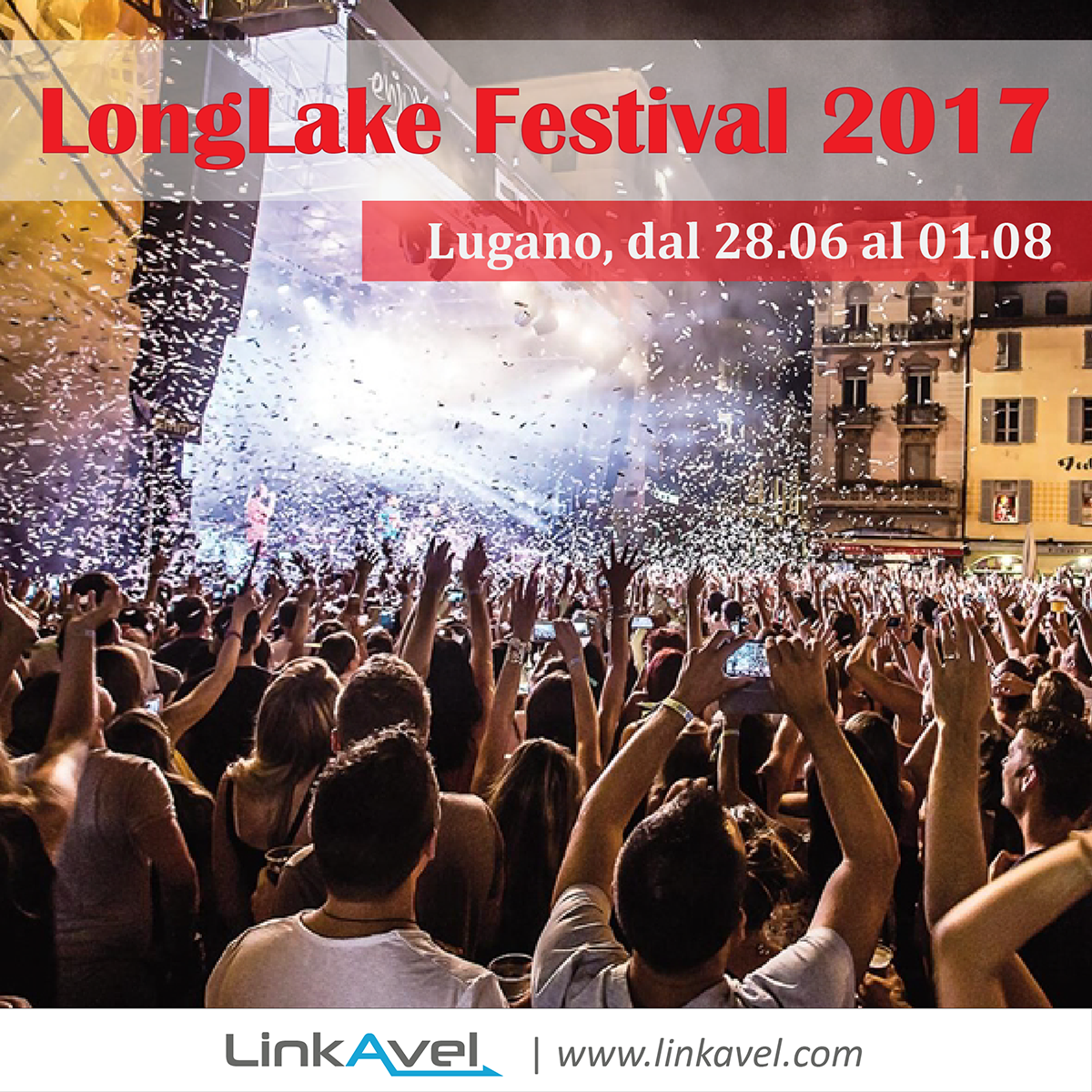 LongLake Festival Lugano summer 2017