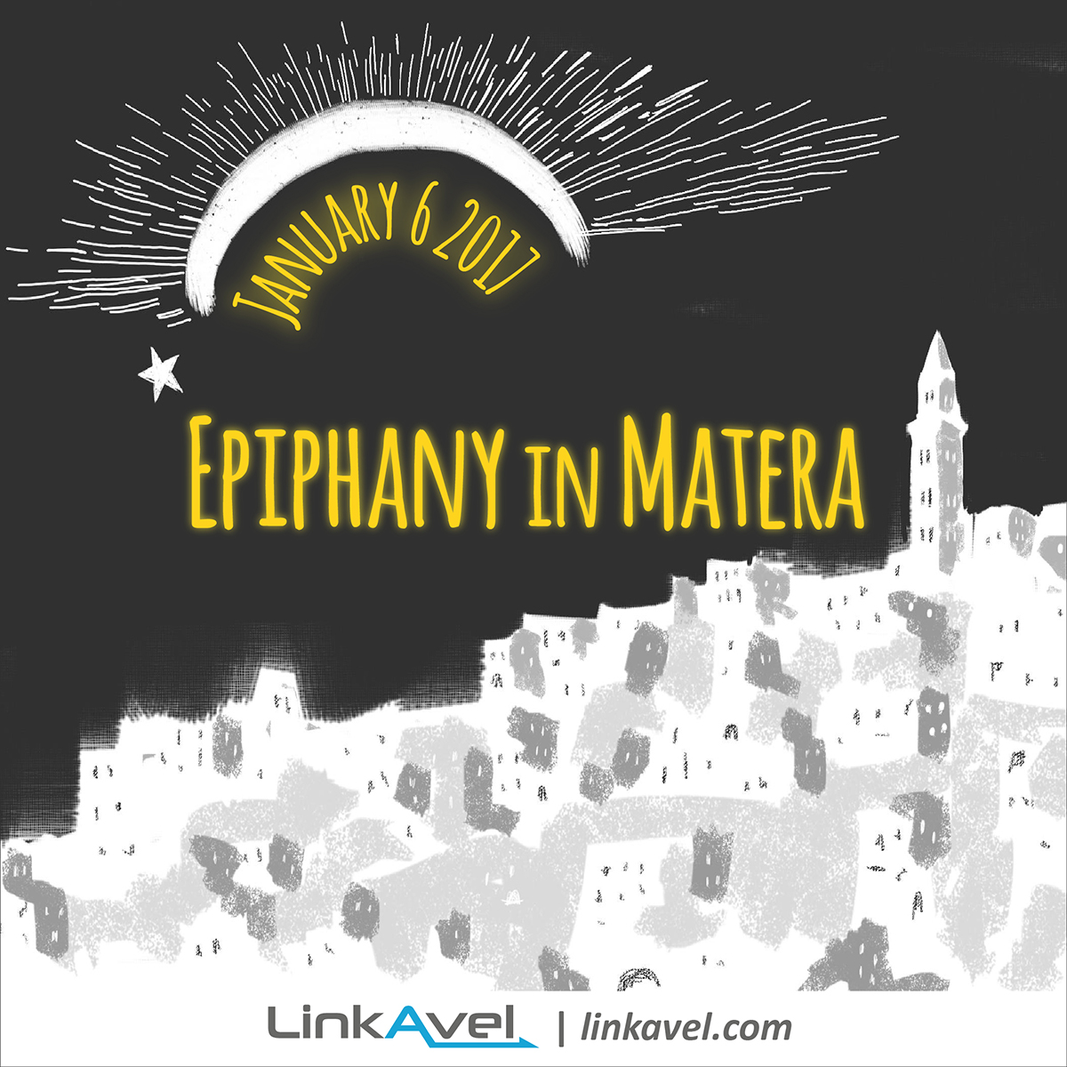 Epiphany in Matera 6 January 2017