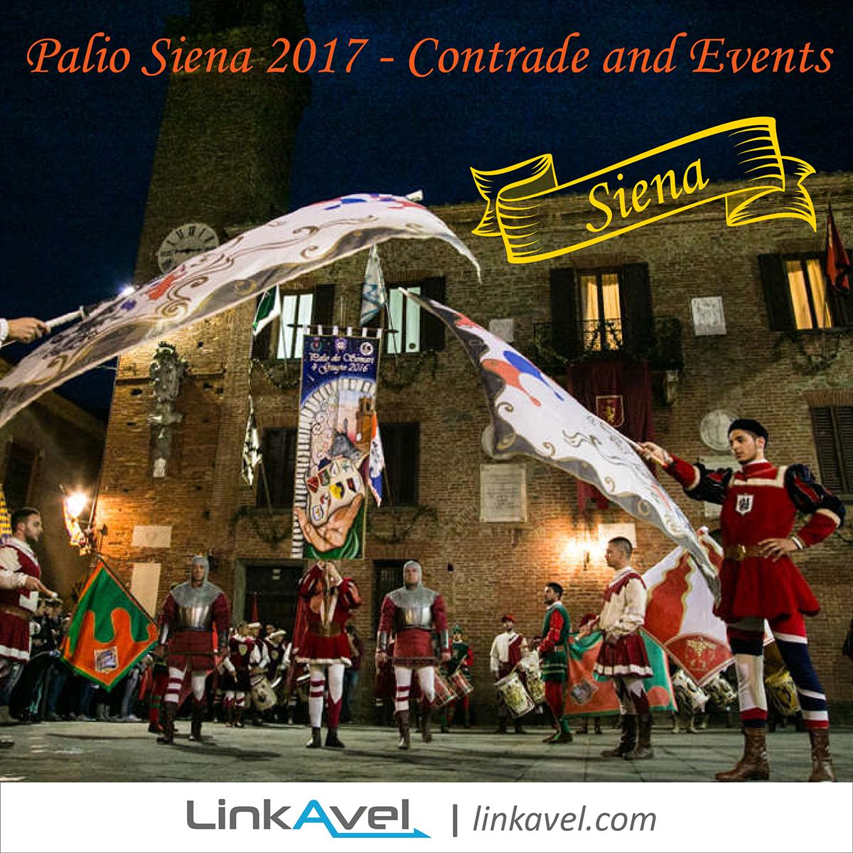 Palio Siena 2017 Events