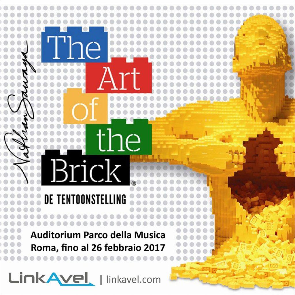 Mostra LEGO a Roma | The Art of the Brick 2017 | Auditorium