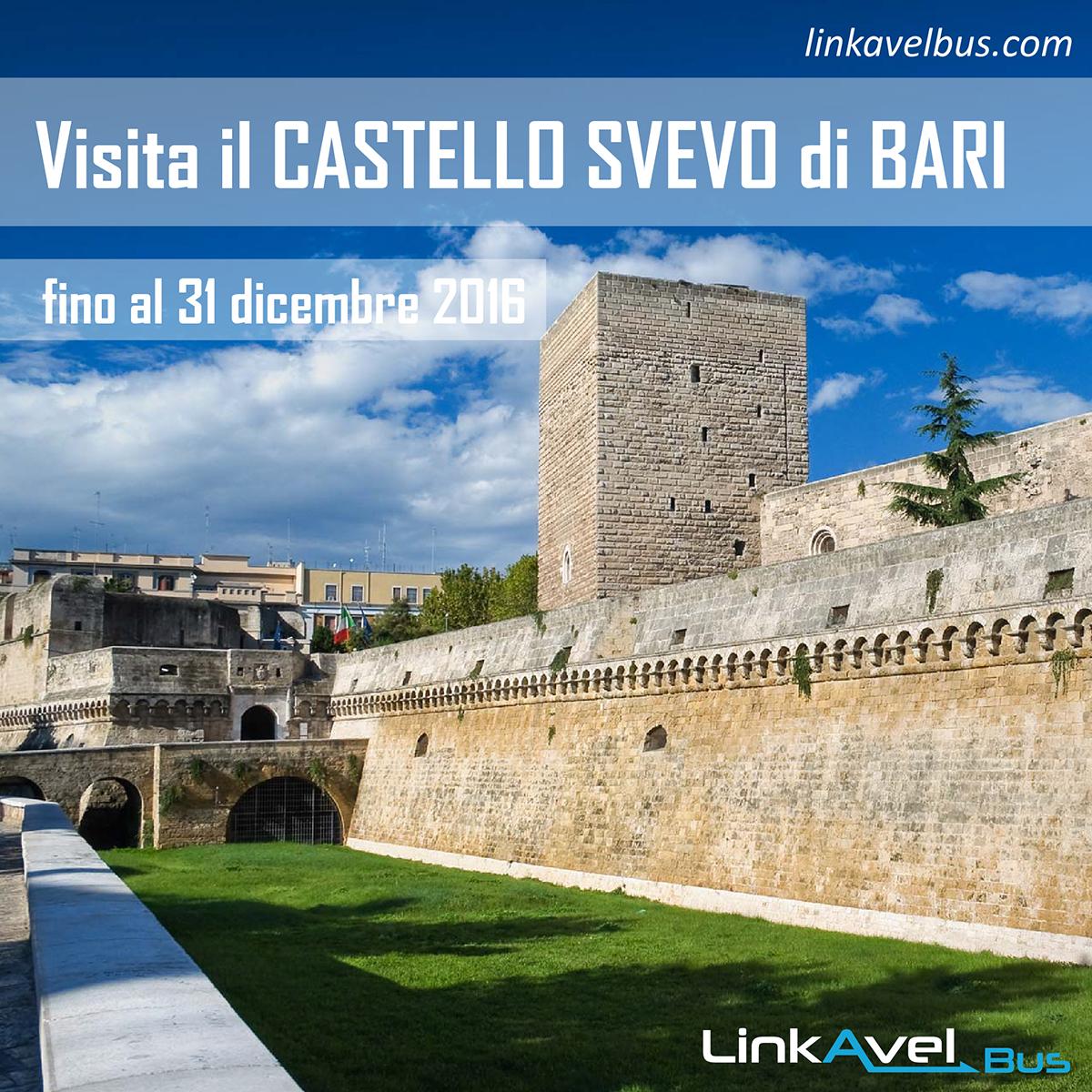 Post il castello Svevo di Bari fino al 31 dicembre 2016
