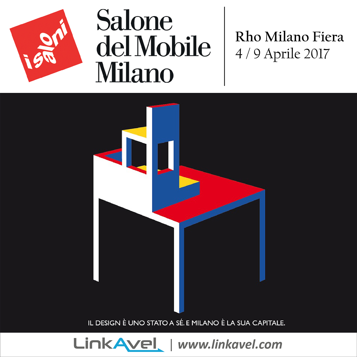 Salone del mobile milano 4 9 aprile 2017 linkavel for Fiera mobile milano 2016