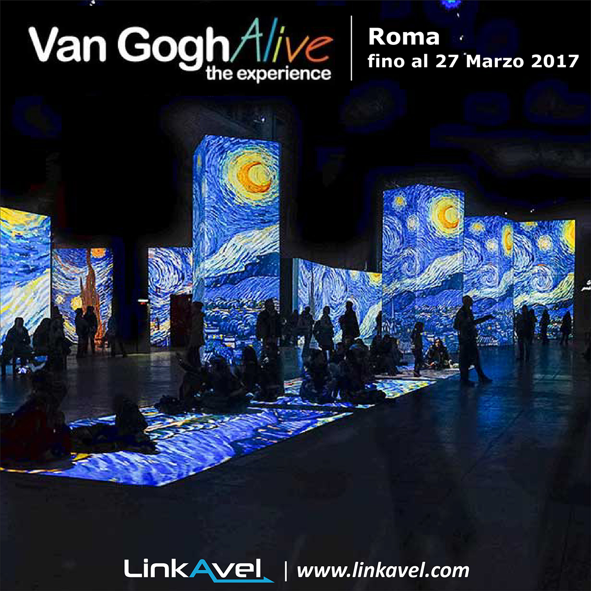 Mostra Van Gogh Alive, Roma 2017