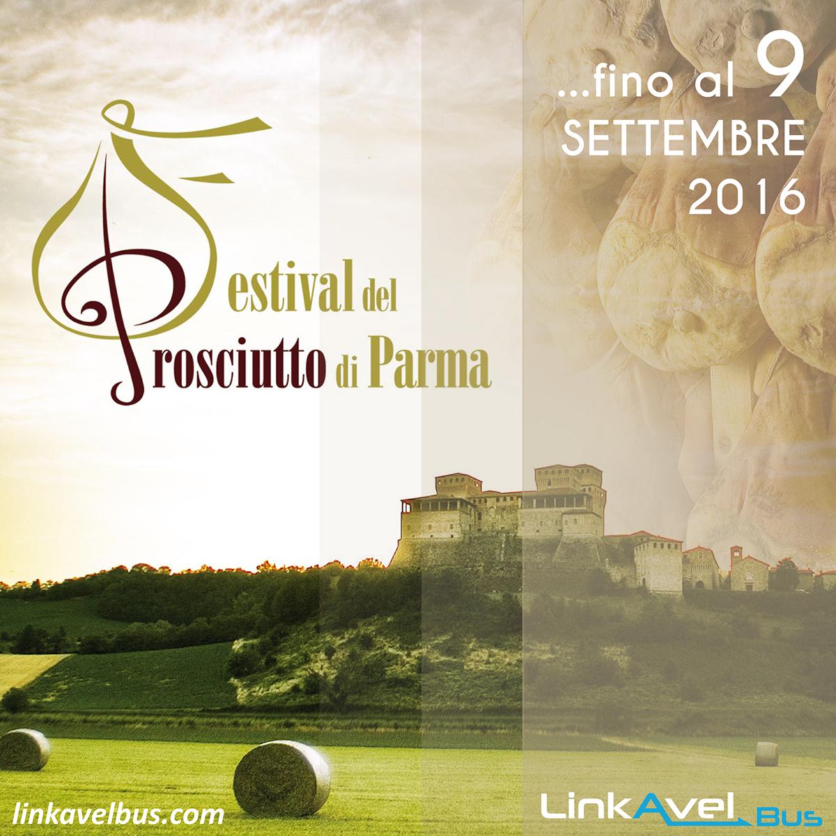 Festival del Prosciutto, Parma. Viaggio in bus verso Parma. Linkavel