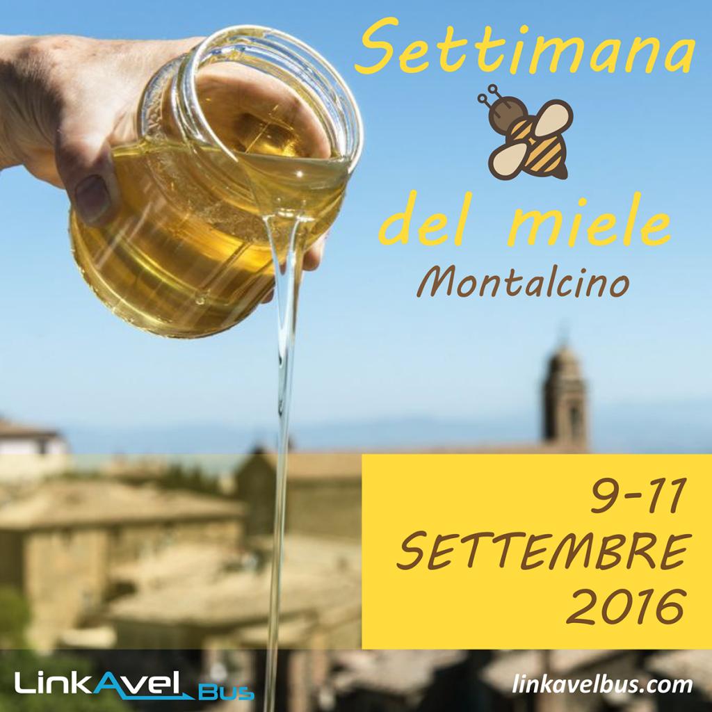 Settimana del Miele a Monatalcino. Viaggio bus Linkavel