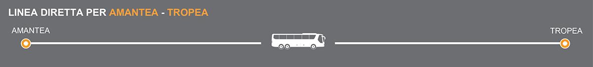 Bus Amantea-Tropea, pullman per le spiagge della Calabria
