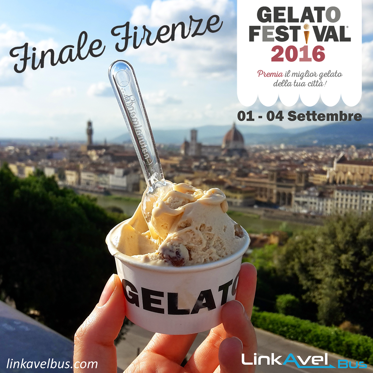 Gelato Festival Firenze. Linkavel