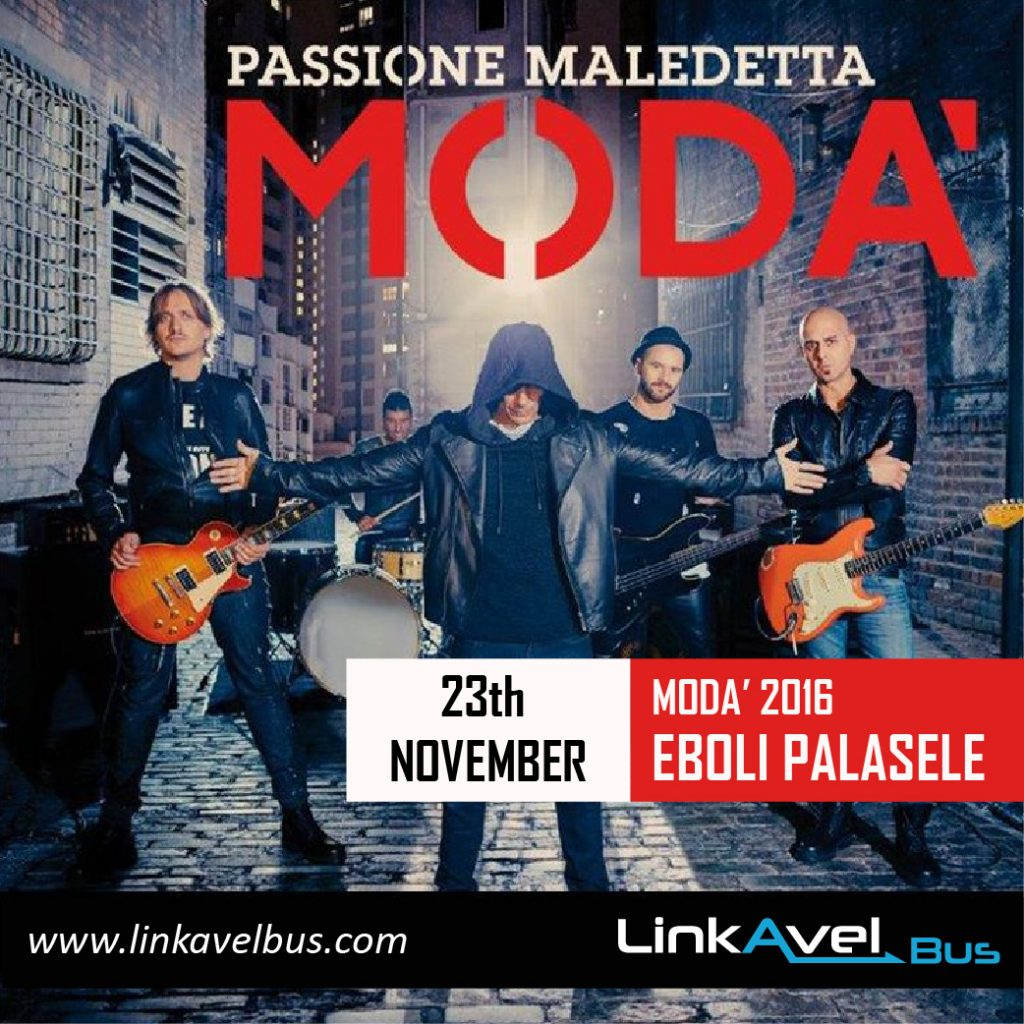 Modà Concert November the 23th 2016 | Eboli, Italy. Linkavel