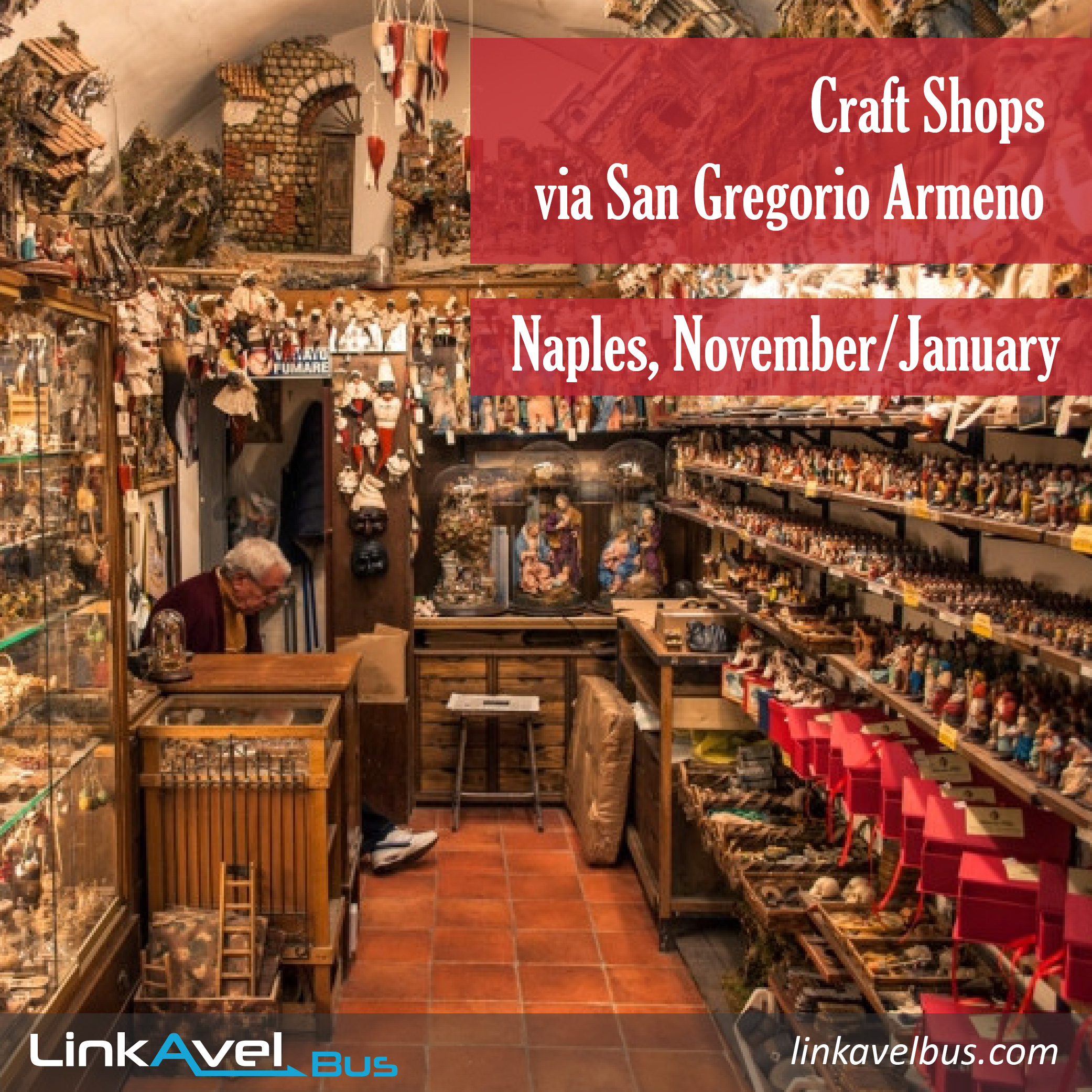 Christmas in Naples, Via San Gregorio Armeno