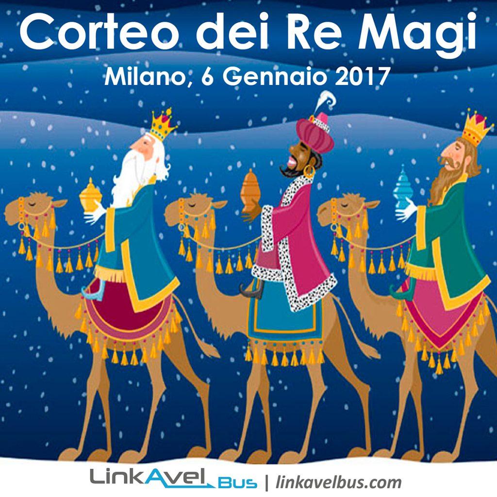 Corteo dei Re Magi | 6 Gennaio 2017 | Milano