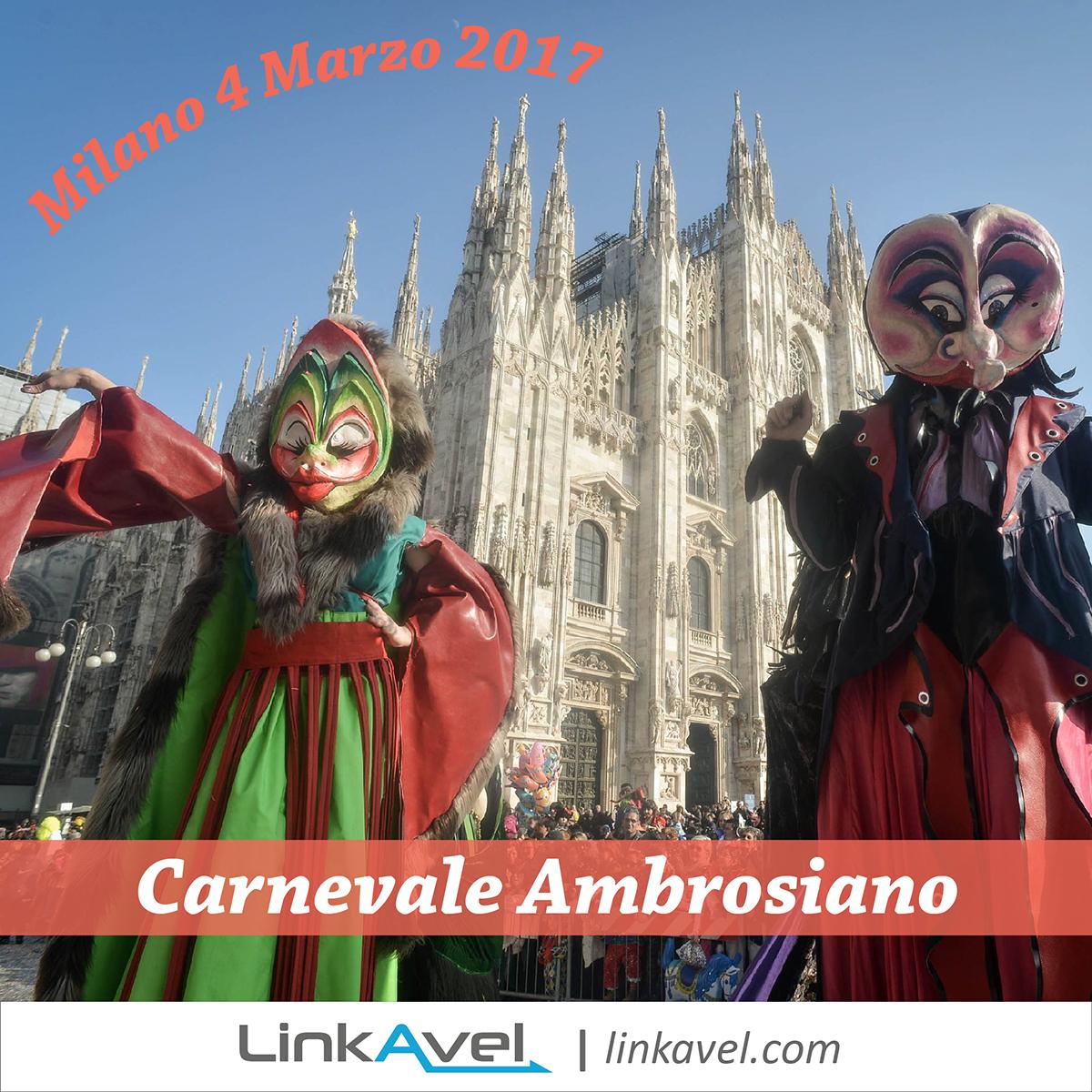 Carnevale Milano 2017: il Carnevale Ambrosiano