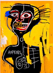 Exhibition Basquiat, Rome 2017