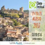 Cleto Festival Calabria, Agosto 2017