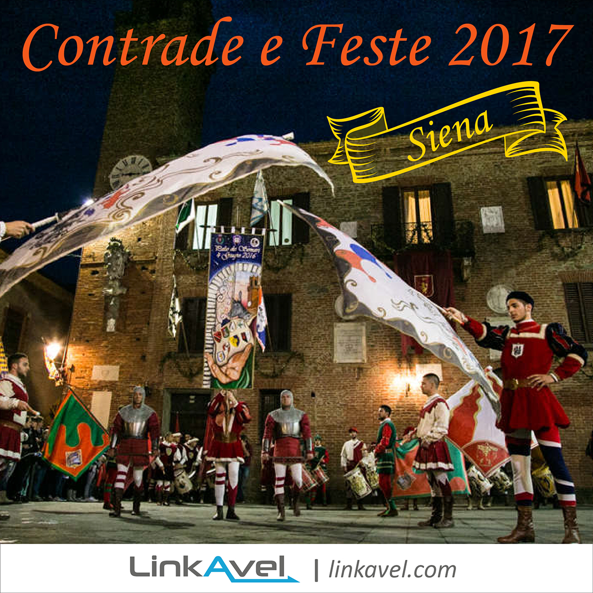 Siena, Contrade e Feste 2017