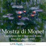 Mostra di Monet, Roma 2018