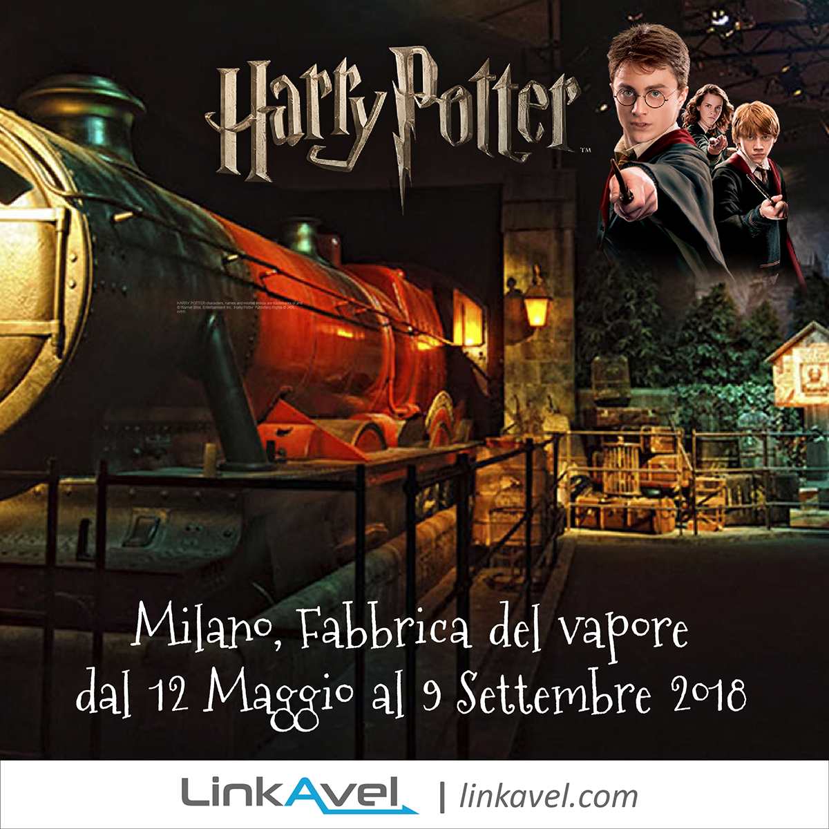 Mostra Harry Potter, Milano 2018