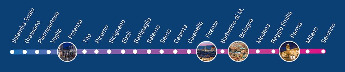 line bus Salandra s.-milan-saronno