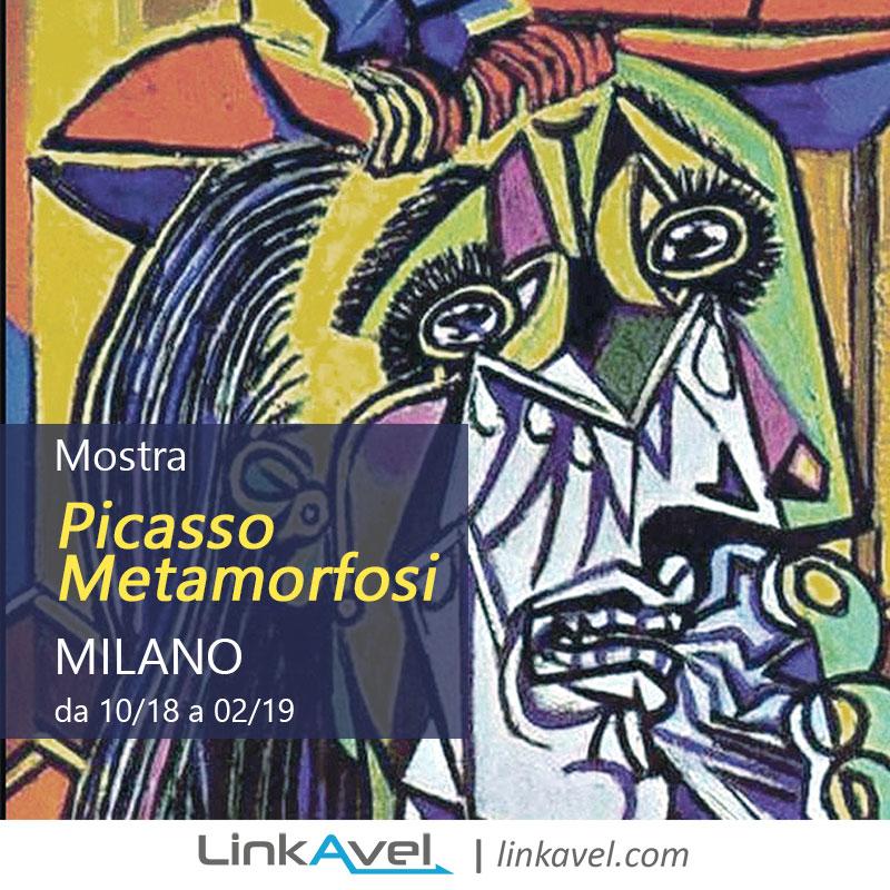 Mostra Picasso Milano 2018 LinkAvel eventi