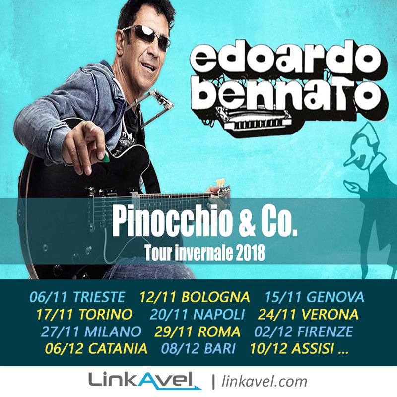 Concerti Edoardo Bennato 2018