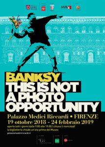 Mostra Banksy a Firenze 2018