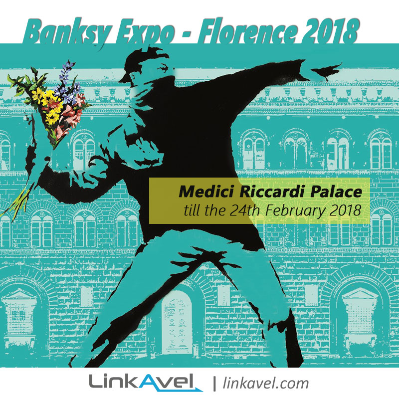 Banksy exhibition in Florence 2018