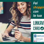 Fai shopping con la tua Linkavel card