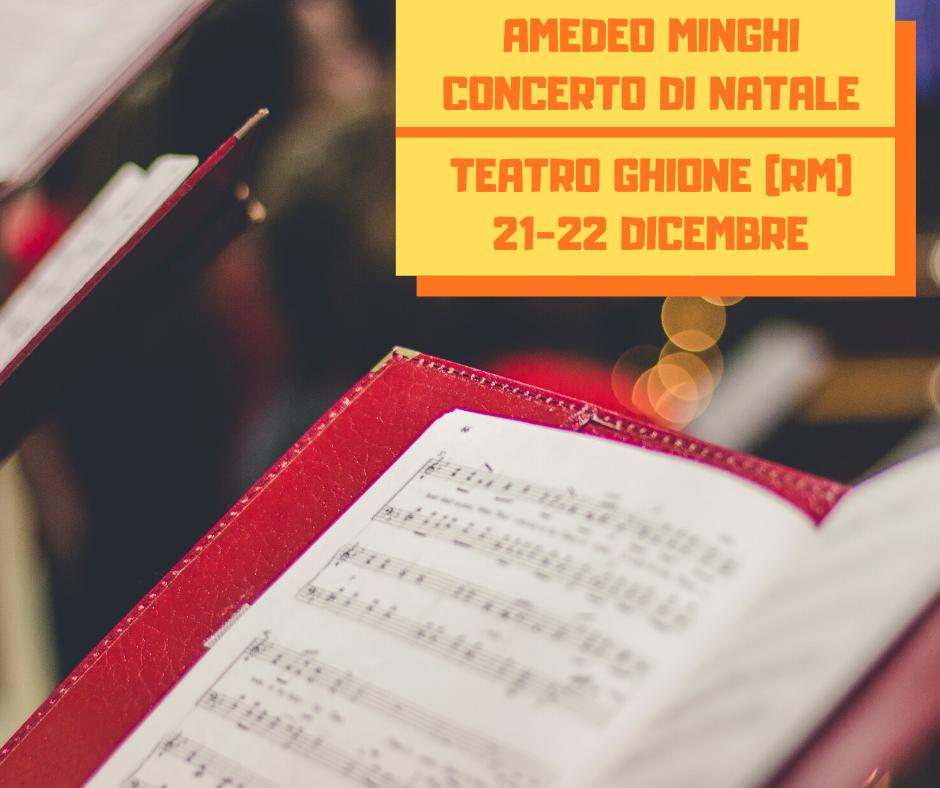 Amedeo Minghi Concerto di Natale